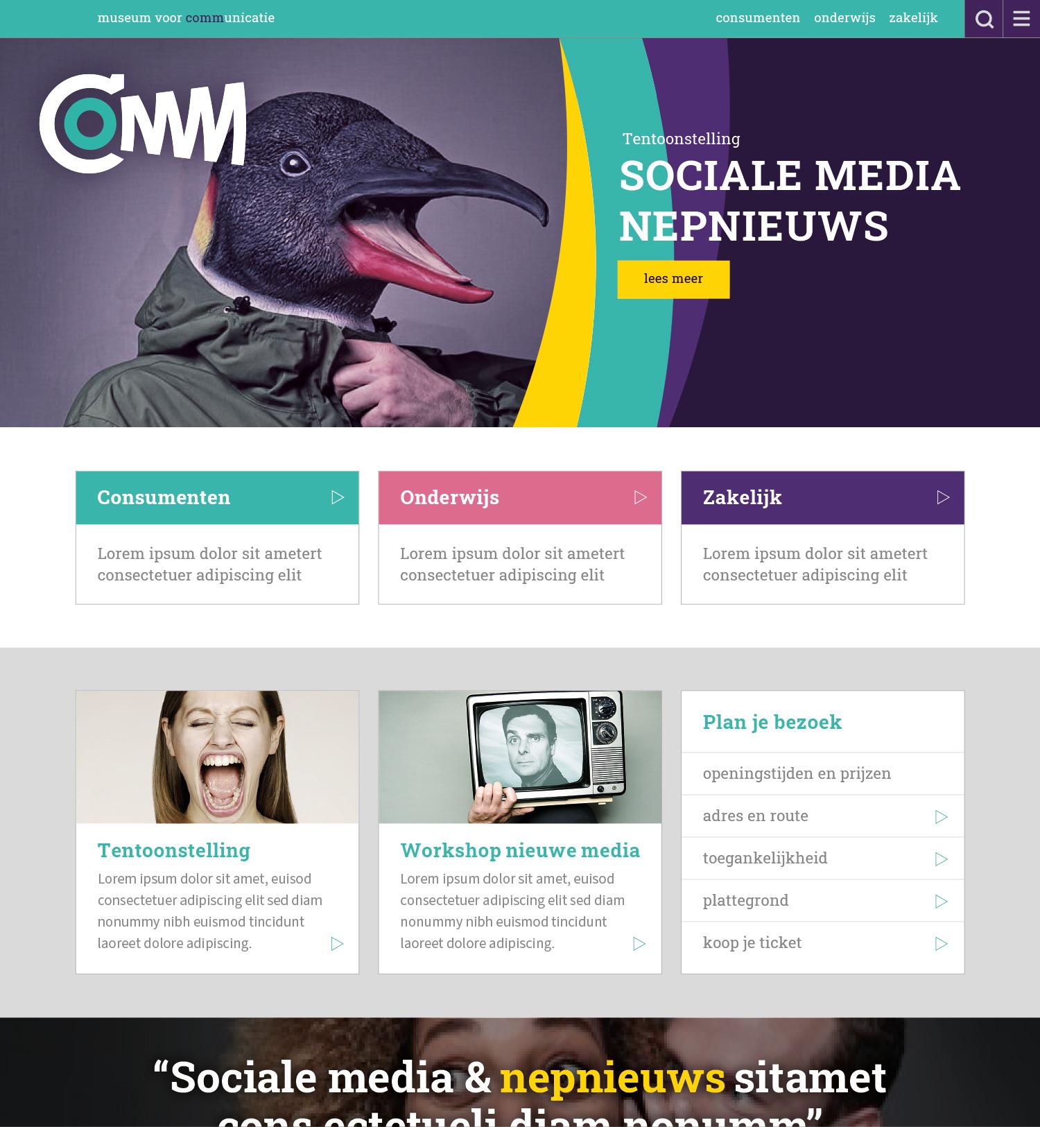 COMM-website